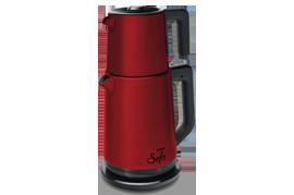 Vestel SEFA KIRMIZI INOX Çay Makinesi