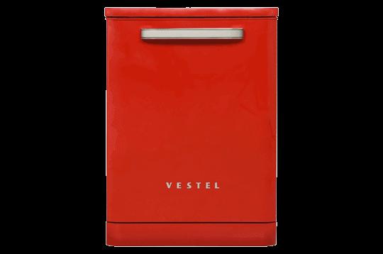 Vestel BM-500 Retro Kırmızı Bulaşık Makinesi Solo Bulaşık Makineleri Modelleri ve Fiyatları | Vestel