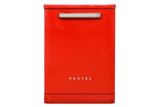 Vestel BM 5001 Retro Kırmızı Bulaşık Makinesi Bulaşık Makineleri Modelleri ve Fiyatları | Vestel