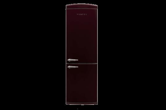 Vestel RETRO NFK350 BORDO Buzdolabı Retro Buzdolabı Modelleri ve Fiyatları | Vestel