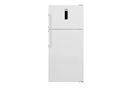 640 LT No-Frost Buzdolabi NF6402 E A++ ION Wifi Dondurucu Üstte No-Frost Buzdolabı Modelleri ve Fiyatları | Vestel