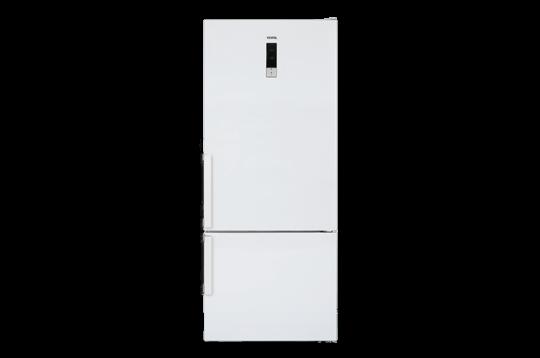 600 LT A++ No-Frost Buzdolabı NFK600 E A++ GI Dondurucu Altta No-Frost Buzdolabı Modelleri ve Fiyatları | Vestel
