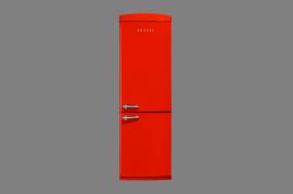 350 LT No-Frost Buzdolabi RETRO NFK3501 Kırmızı Buzdolapları Modelleri ve Fiyatları | Vestel