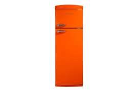 325 LT Statik Buzdolabı RETRO SC3251 Turuncu Retro Buzdolabı Modelleri ve Fiyatları | Vestel