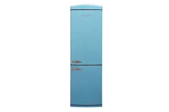 350 LT No-Frost Buzdolabı RETRO NFK3501 Düş Mavisi Buzdolapları Modelleri ve Fiyatları | Vestel