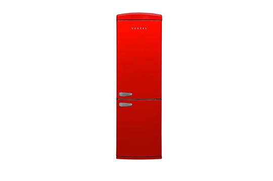 RETRO NFK37001 KIRMIZI No-Frost Kombi Buzdolabı Retro Buzdolabı Modelleri ve Fiyatları | Vestel