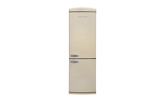 RETRO NFK37001 BEJ No-Frost Kombi Buzdolabı Retro Buzdolabı Modelleri ve Fiyatları | Vestel