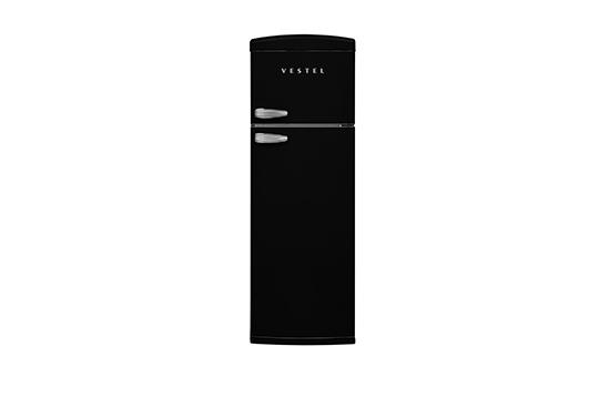 RETRO SC32001 SİYAH Statik Buzdolabı Buzdolapları Modelleri ve Fiyatları | Vestel