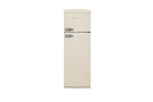 RETRO SC32001 BEJ Statik Buzdolabı Buzdolapları Modelleri ve Fiyatları | Vestel