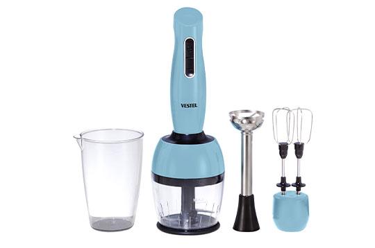 VESTEL TARÇIN 7500 El Blender Seti Düş Mavisi El Blenderı Modelleri ve Fiyatları   Vestel