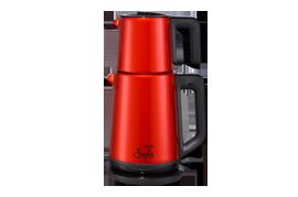 Vestel Sefa Kırmızı Inox Çay Makinesi Çay Makinesi Modelleri ve Fiyatları | Vestel