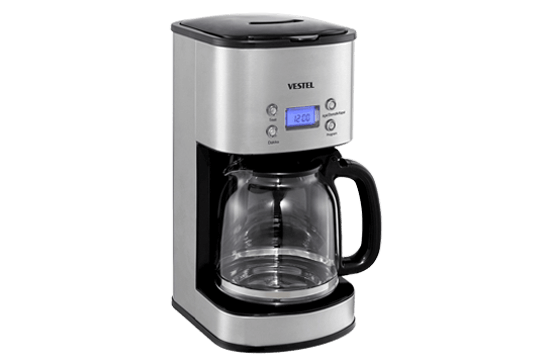 Vestel Sefa K3000 Inox Filtre Kahve Makinesi Filtre Kahve Makineleri Modelleri ve Fiyatları | Vestel