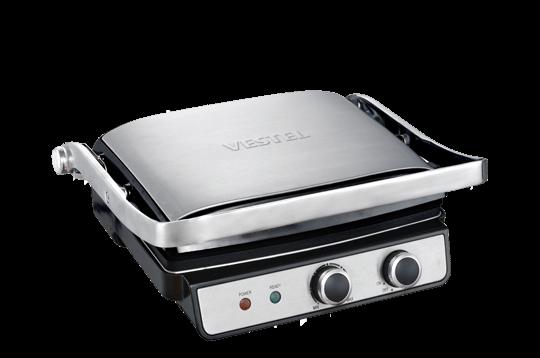 Vestel Şölen T3000 Inox Tost Makinesi Tost ve Izgara Makinesi Modelleri ve Fiyatları | Vestel