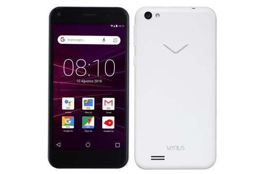 Venus GO Beyaz Cep Telefonu Venus Telefonlar Modelleri ve Fiyatları | Vestel