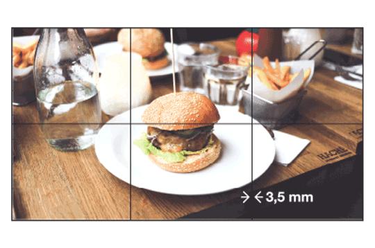 Vestel 55'' Videowall 700 Nits 3.5 mm Dijital Ekran Çözümleri Modelleri ve Fiyatları | Vestel