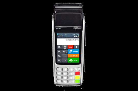 Ingenico iWE280 Seyyar YazarkasaPOS Yazar Kasa Modelleri ve Fiyatları | Vestel