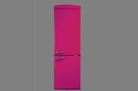 Vestel RETRO NFK350 Pembe Buzdolabı