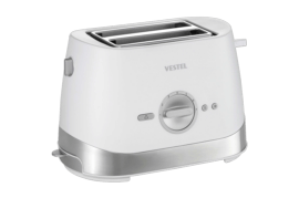 Vestel Brunch Serisi 2001 Beyaz Ekmek Kızartma Makinesi