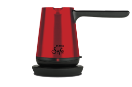 Vestel Sefa Kırmızı Inox Turk Kahvesı Makınesı