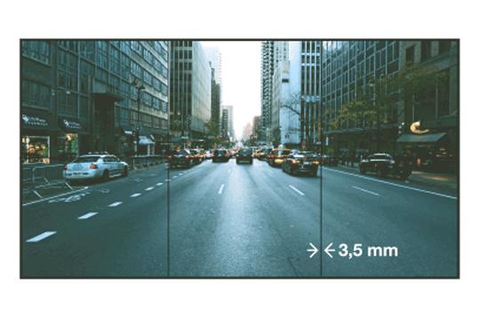 Vestel 55'' Videowall 500 Nits 3.5 mm(55VW500N35B)