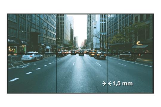Vestel 55'' Videowall 700 Nits 1.5 mm(55VW700N15B)